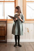 SOOR PLOOM◇ Josie Dress, Juniper Linen (18-24m,2-3y,4-5y,6-7y)