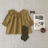 SOOR PLOOM◇ Lucille Tunic, Botanical Flower (12-18m,18-24m,2-3y,4-5y,6-7y)