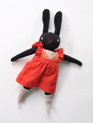polka dot club large black rabbit olivia mariet when mom is