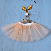 Elselil◇Doll tulle skirt (Light Rose)