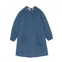 yellowpelota◇Pocket Dress, Washed Denim (2Y,4Y,6Y,8Y,10Y)