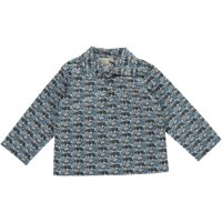 <img class='new_mark_img1' src='//img.shop-pro.jp/img/new/icons14.gif' style='border:none;display:inline;margin:0px;padding:0px;width:auto;' />OLIVIER◇Theodore Liberty Shirt, Roaring Wheels Blue