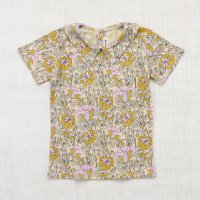 <img class='new_mark_img1' src='//img.shop-pro.jp/img/new/icons14.gif' style='border:none;display:inline;margin:0px;padding:0px;width:auto;' />Misha and Puff◇Trumpet Flower Collar Tee◇Lavender