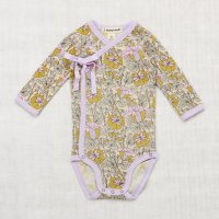 <img class='new_mark_img1' src='//img.shop-pro.jp/img/new/icons14.gif' style='border:none;display:inline;margin:0px;padding:0px;width:auto;' />Misha and Puff◇Trumpet Flower Crossover Onesie◇Lavender