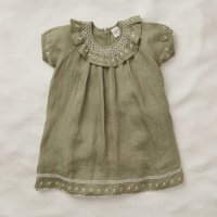 Apolina◇ 'MIREL' DRESS-PISTACHIO (S,M,L)