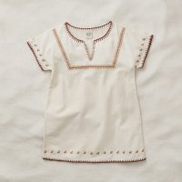 Apolina◇ 'ROSE' TUNIC DRESS-MILK (S,M,L)