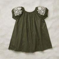 Apolina◇ 'BARBARA' DRESS-OLIVE (S,M,L)
