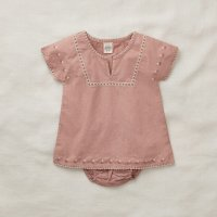 Apolina◇ 'ROSE' TUNIC SET-MOROCCAN ROSE (6-12m,12-18m,18-24m)