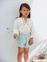 30%Off!! liilu◇embro oversize shirt (6-18m,1-2y,2-4y,4-6y,6-8y,8-10y)
