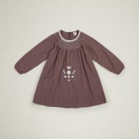 Apolina◇ 'MAREN' SMOCK-AUTUMN CHECK (S,M,L)