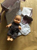 Sac à langer poupées purple