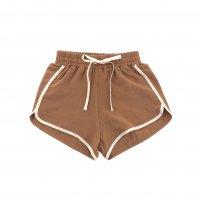 liilu◇sportswear shorts, terracotta (1-2y,2-4y,4-6y,6-8y,8-10y,10-12y)