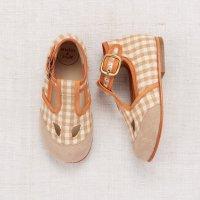 40%Off!! Misha and Puff◇Elmwood T-Strap Shoes - Gingham