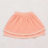 30%Off!! Misha and Puff◇Tiered Skirt◇Coral/Vanilla