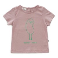 <img class='new_mark_img1' src='https://img.shop-pro.jp/img/new/icons16.gif' style='border:none;display:inline;margin:0px;padding:0px;width:auto;' />40%Off!! Oeuf◇Tee Shirt, Mauve-Human Bean (18M,2Y,4Y,6Y,8Y,10Y)