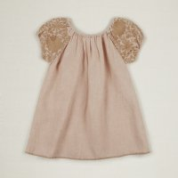 Apolina◇ 'BARBARA' DRESS-PINK SAND (S,M,L,XL)