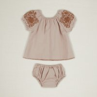 Apolina◇'BARBARA' TUNIC SET-PINK SAND (6-12m,12-18m,18-24m)