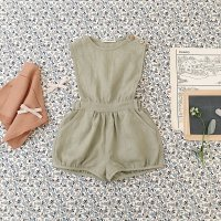 <img class='new_mark_img1' src='//img.shop-pro.jp/img/new/icons14.gif' style='border:none;display:inline;margin:0px;padding:0px;width:auto;' />SOOR PLOOM◇ Fernanda Playsuit, Pond (2-3y,4-5y,6-7y,8-9y)
