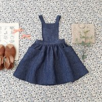 SOOR PLOOM◇ Harriet Pinafore, Chambray (18-24m,2-3y,4-5y,6-7y,8-9y)