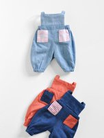 Polka Dot Club◇PDC Pocket Overalls