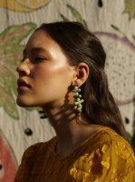 <img class='new_mark_img1' src='//img.shop-pro.jp/img/new/icons14.gif' style='border:none;display:inline;margin:0px;padding:0px;width:auto;' />VALET STUDIO◇Clotilde Earrings◇Mint