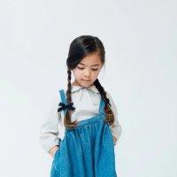 Wunderkin Co.◇Petite Schoolgirl Pigtail Set //  Black