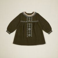 <img class='new_mark_img1' src='https://img.shop-pro.jp/img/new/icons14.gif' style='border:none;display:inline;margin:0px;padding:0px;width:auto;' />Apolina◇ 'MARIETTE' DRESS - OLIVE (S,M,L)