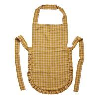 PROJEKTITYYNY◇Wes gingham frill apron, mustard