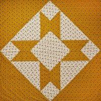 PROJEKTITYYNY◇ Leinikki patchwork tablecloth, mustard