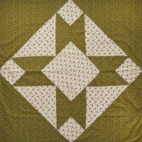 PROJEKTITYYNY◇ Leinikki patchwork tablecloth, olive