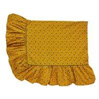 PROJEKTITYYNY◇ Leinikki floral tablecloth, mustard
