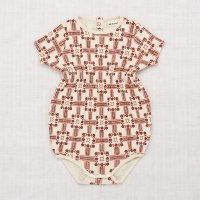 <img class='new_mark_img1' src='https://img.shop-pro.jp/img/new/icons14.gif' style='border:none;display:inline;margin:0px;padding:0px;width:auto;' />Misha and Puff◇Balloon Romper◇ Railroad Floral