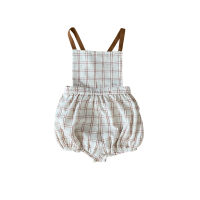 <img class='new_mark_img1' src='https://img.shop-pro.jp/img/new/icons14.gif' style='border:none;display:inline;margin:0px;padding:0px;width:auto;' />LiiLU◇ Mika Romper, Rustic Check (12m,18m,24m,36m)