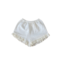 <img class='new_mark_img1' src='https://img.shop-pro.jp/img/new/icons14.gif' style='border:none;display:inline;margin:0px;padding:0px;width:auto;' />LiiLU◇ Sarah Shorts, Milk (2y,4y,6y,8y)