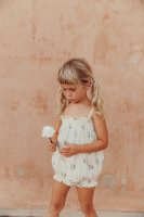 <img class='new_mark_img1' src='https://img.shop-pro.jp/img/new/icons14.gif' style='border:none;display:inline;margin:0px;padding:0px;width:auto;' />LiiLU◇ Smocked Baby Romper, Summer Blossom (12m,18m,24m,36m)