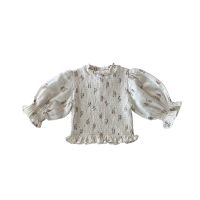 <img class='new_mark_img1' src='https://img.shop-pro.jp/img/new/icons14.gif' style='border:none;display:inline;margin:0px;padding:0px;width:auto;' />LiiLU◇ Bettina Smocked Blouse, Summer Blossom (2y,4y,6y,8y,10y,12y)