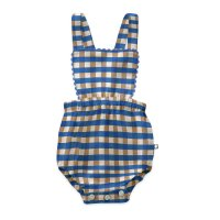 <img class='new_mark_img1' src='https://img.shop-pro.jp/img/new/icons14.gif' style='border:none;display:inline;margin:0px;padding:0px;width:auto;' />Oeuf◇Ric Rac Playsuit, Sky Blue (6-12M,12-18M,18-24M)