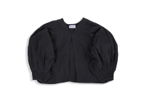 <img class='new_mark_img1' src='https://img.shop-pro.jp/img/new/icons14.gif' style='border:none;display:inline;margin:0px;padding:0px;width:auto;' />KiiRA◇SMOCKING TUCK BLOUSE, CHARCOAL GRAY