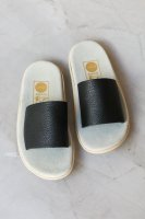 <img class='new_mark_img1' src='https://img.shop-pro.jp/img/new/icons14.gif' style='border:none;display:inline;margin:0px;padding:0px;width:auto;' />at Dawn.◇ Island Slipper x at Dawn. Sandals, Black
