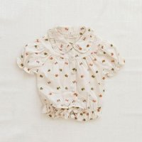 FIN & VINCE◇ eleanor blouse- embroidered floral