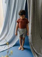 mabo◇ remy sailor shorts in indigo slub cotton