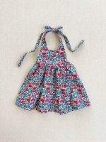 mabo◇ maya halter dress made with poppy & daisy liberty fabric