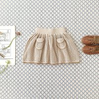 SOOR PLOOM◇ Norma Skirt, Milk (2y,4y,6y,8y,10y)