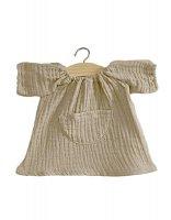 Robe Cotton Jeanne dress double gauze Mastic
