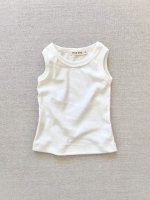 <img class='new_mark_img1' src='https://img.shop-pro.jp/img/new/icons14.gif' style='border:none;display:inline;margin:0px;padding:0px;width:auto;' />mabo◇ organic cotton tank top - bright white