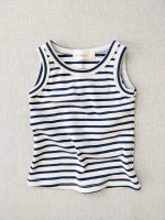 <img class='new_mark_img1' src='https://img.shop-pro.jp/img/new/icons14.gif' style='border:none;display:inline;margin:0px;padding:0px;width:auto;' />mabo◇ organic cotton tank top - natural/blue stripe