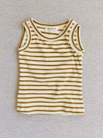 <img class='new_mark_img1' src='https://img.shop-pro.jp/img/new/icons14.gif' style='border:none;display:inline;margin:0px;padding:0px;width:auto;' />mabo◇ organic cotton tank top - natural/chartreuse stripe