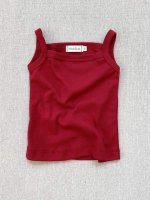 <img class='new_mark_img1' src='https://img.shop-pro.jp/img/new/icons14.gif' style='border:none;display:inline;margin:0px;padding:0px;width:auto;' />mabo◇ organic cotton camisole - scarlet