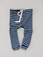 <img class='new_mark_img1' src='https://img.shop-pro.jp/img/new/icons14.gif' style='border:none;display:inline;margin:0px;padding:0px;width:auto;' />mabo◇ organic cotton drawstring leggings - blue/natural