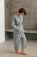 <img class='new_mark_img1' src='https://img.shop-pro.jp/img/new/icons14.gif' style='border:none;display:inline;margin:0px;padding:0px;width:auto;' />KiiRA◇ COTTON STRIPE JUMP SUIT, BLUE